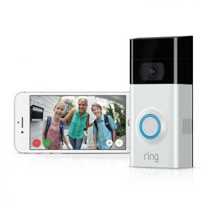 81Ring Wi-Fi Enabled Video Doorbell / push+mobileeI2NktctL._SL1500_