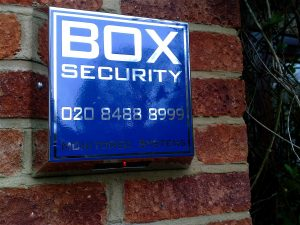 BOX Security Stainless Steel Alarm Box