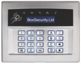 Surface or Flush Mount Keypad White